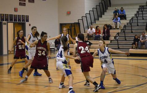 Girls basketball ends season with a swish