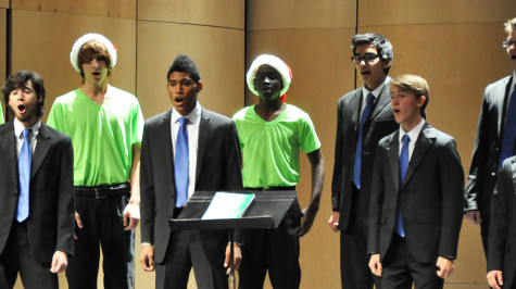Choir boys hope to continue musical careers in college