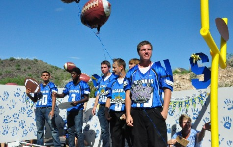 OHS successfully juggled another scorching homecoming parade