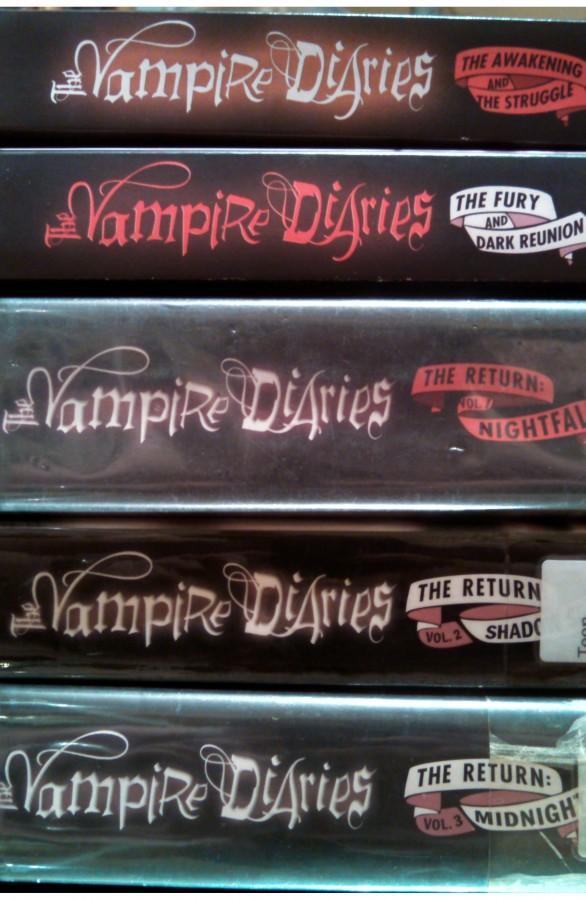 the vampire diaries book series free