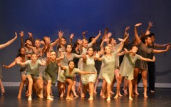 Student dancers paint the stage with sucess