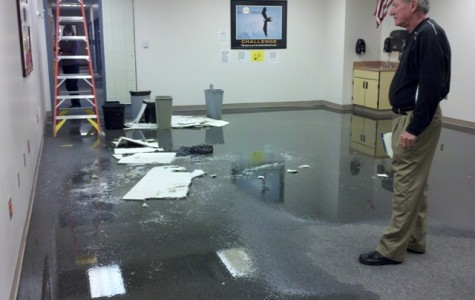 OHS experiences flooding