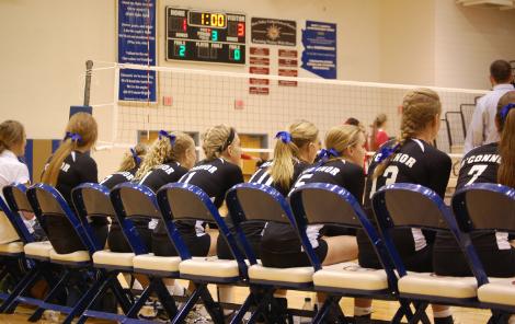 Girls' varsity volleyball team finishes season