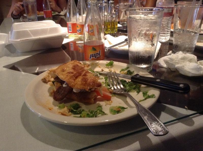 The+Gyro+sandwich+at++Caffe+Sarajevo.
