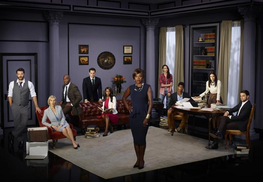 PHOTO+COURTESY+OF+ABCALLACCESS+%0D%0AThe+cast+of+How+to+Get+Away+With+Murder+standing+around+on+the+set+of+Annalise+Keating%27s+office.++