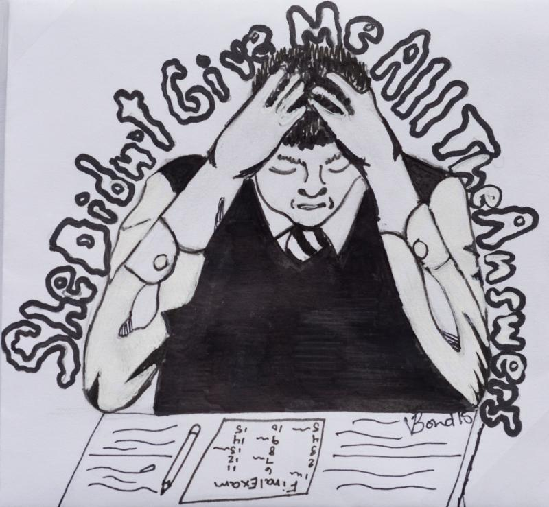 Students+often+stress+themselves+out+during+finals%2C+but+instead+shift+the+blame+to+the+teachers+that+instructed+them+all+semester+long%2C+as+shown+in+this+cartoon%2C