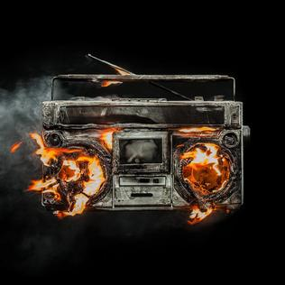 The cover of Green Day's latest album, Revolution Radio.