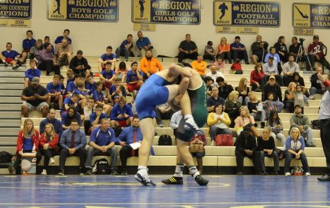 Wrestling rumbles back onto campus