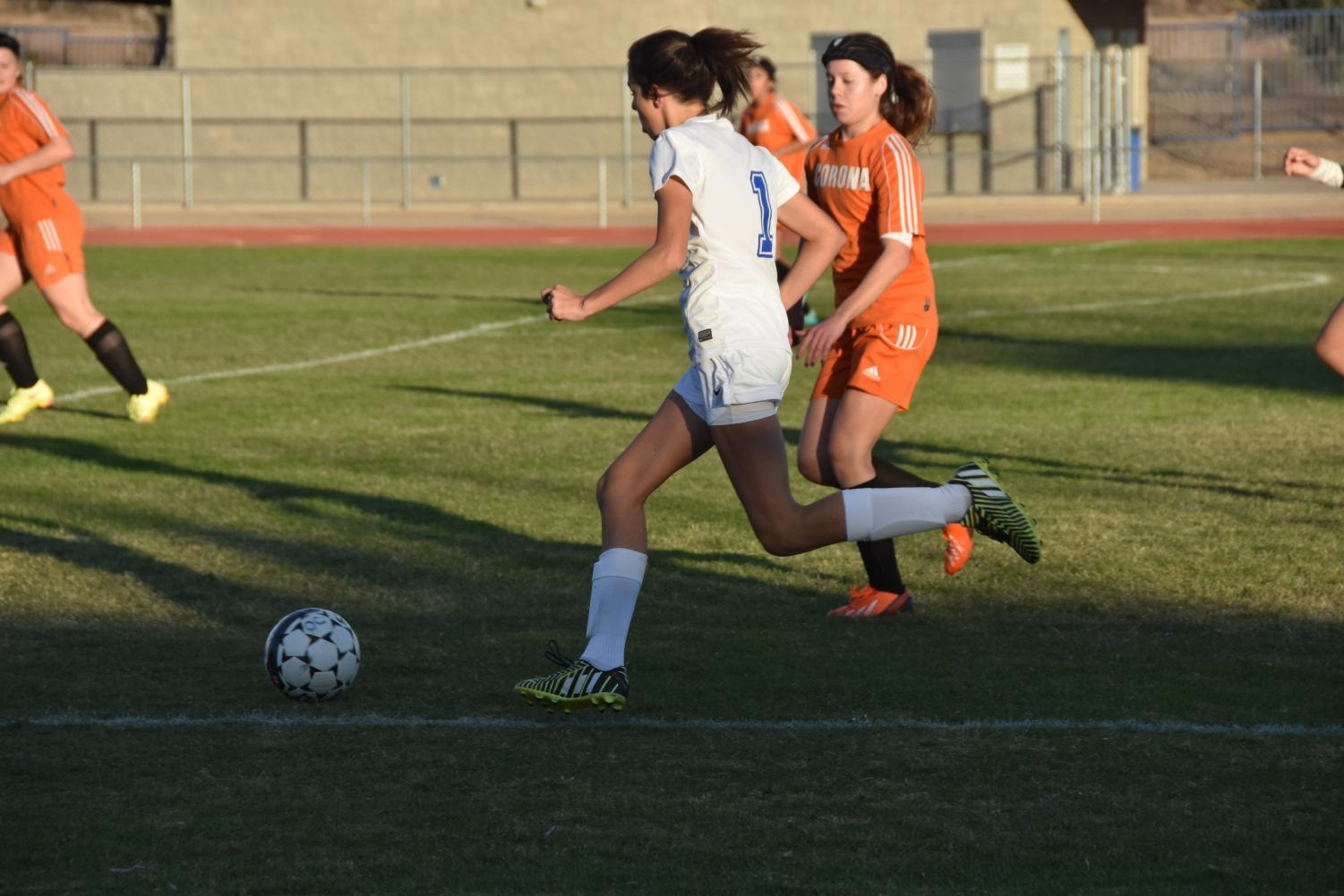 Girls soccer keep up their spirit as they jump into the new season.