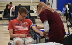 Blood Drive draws students together to help the community