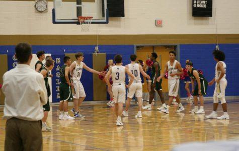 Boys basketball dribbled toward a win