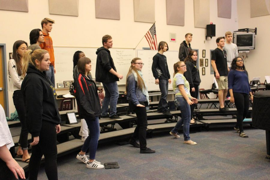 +Honor+choir+practices+on+March+7+in+class%2C+singing+%E2%80%9CShut+De+Do%E2%80%9D+ahead+of+the+festival