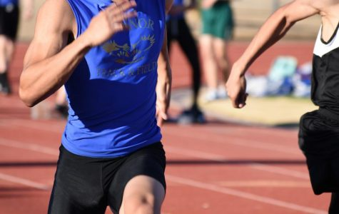 Track and Field hustles to the finish line