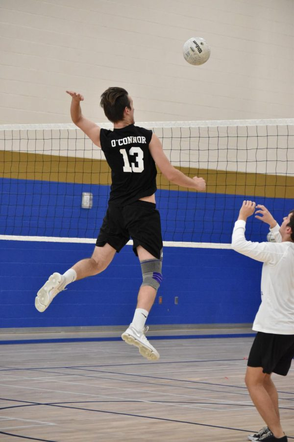 Boys volleyball hits opponents hard