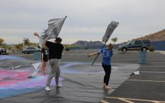 Winter guard tosses their way towards state