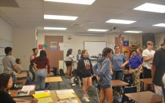 Freshmen mentors starts the year off with first meeting