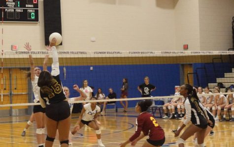 Volleyball sets themselves up for victory