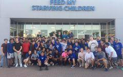 Students show their support through charity