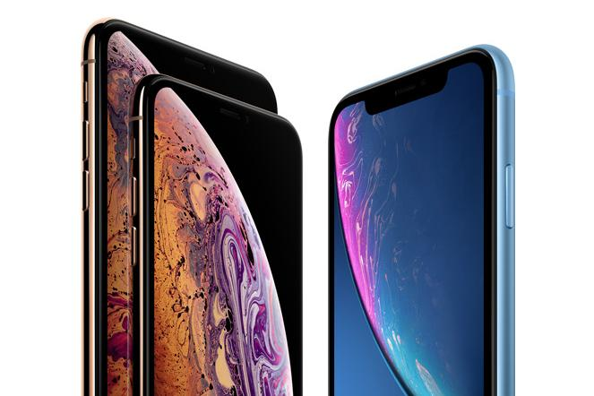 The iPhone XS. left, and the iPhone XS Max, right, are two of Apple's editions to the iPhone lineup.