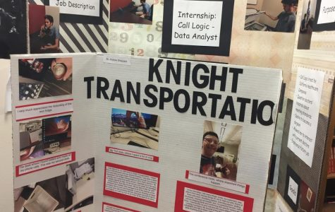 Seniors get experience in the work field with Academy internships