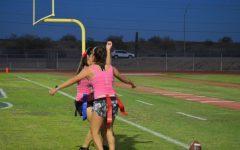 Powderpuff flags down several touchdowns