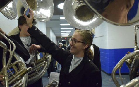 Marching band returns with winter concert