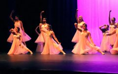 Dancing queens outshine the night in recital