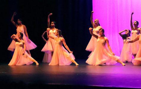 Dancing queens outshine the night in recital