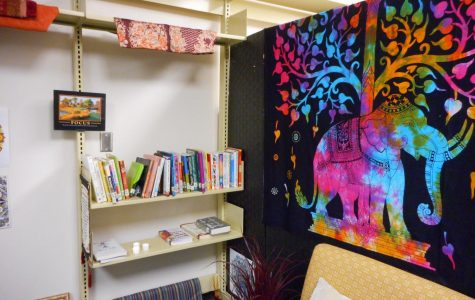 Meditation Room brings peace to campus in a new efficient way