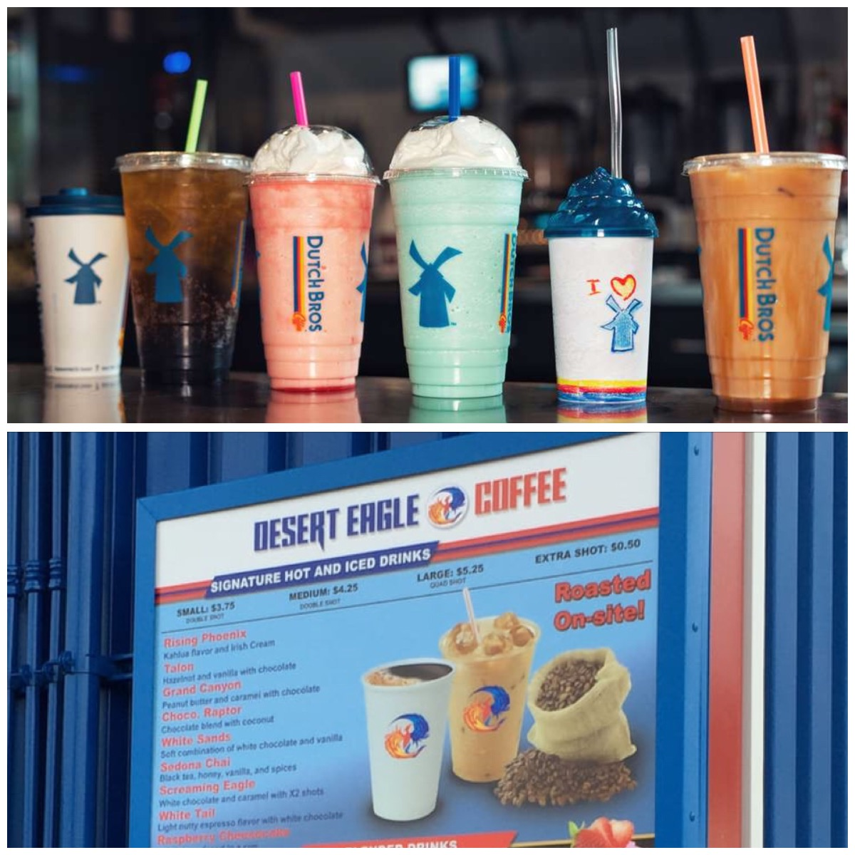 The ultimate choice is your's; Dutch bros or Desert Eagle?