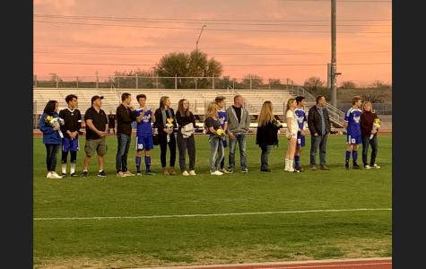 Senior nights end soccer season on a high