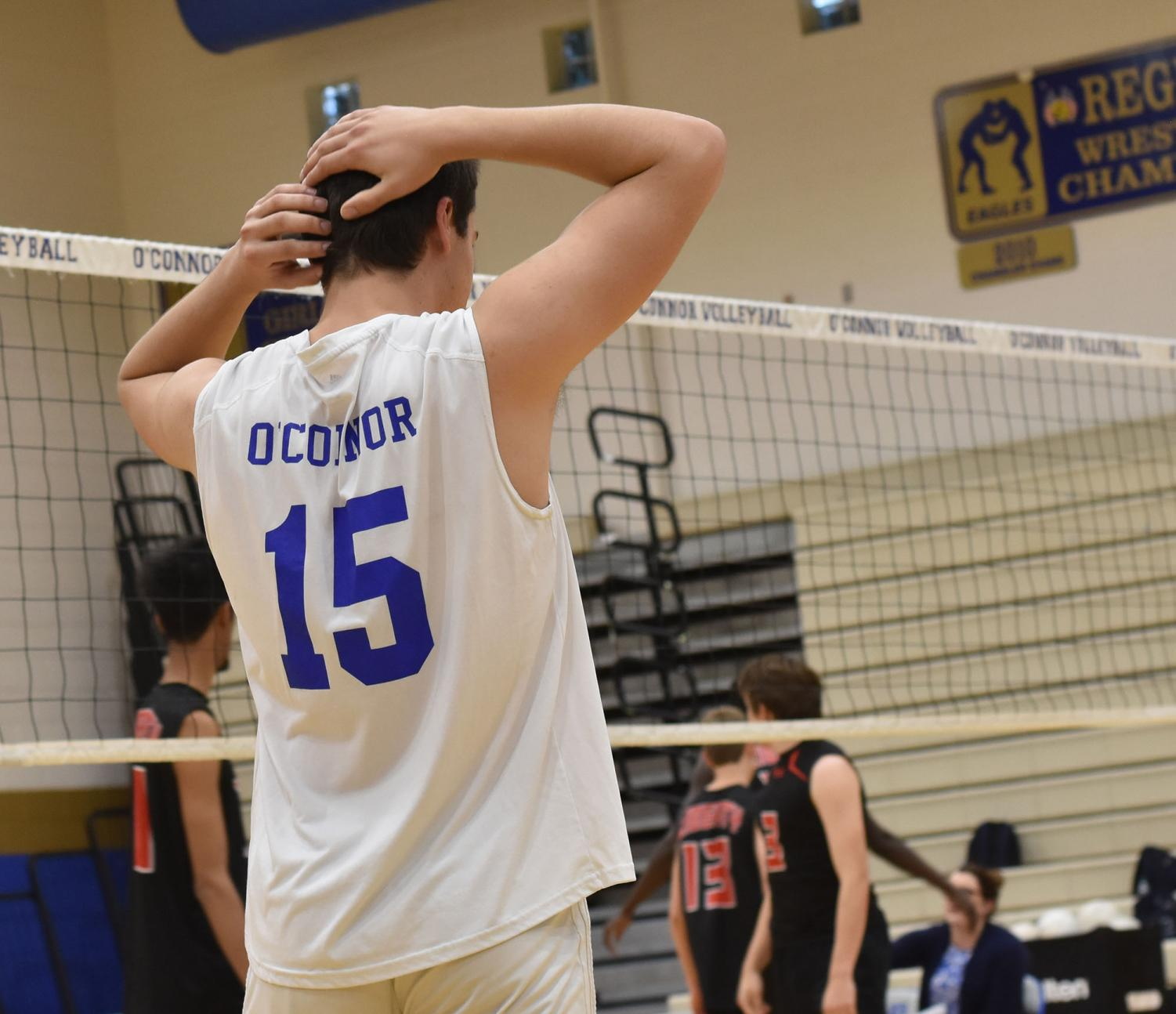 Sam Zaporowski, sophomore, and OHS take on Liberty on April 18th.