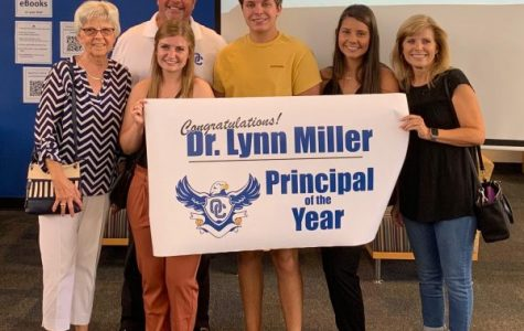 Staying Gritty and Fierce, Dr. Miller Wins Principal of The Year Award