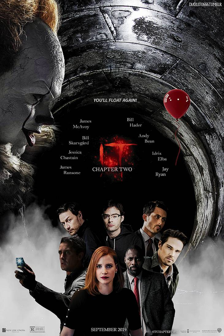 Photo courtesy of deviantart.com. A fan-made promotional poster for It: Chapter 2.