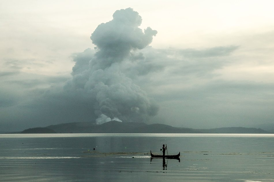 Taal Volcano erupts in the Philippines, bringing chaos and fear to the country.