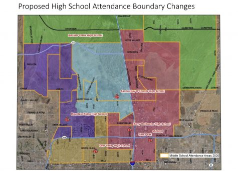 These new boundary changes will be implemented to balance out DVUSD school populations.