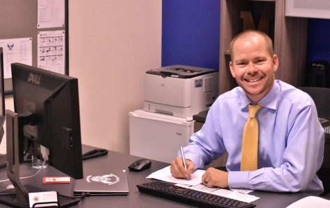 McLain works diligently to improve students' success across campus.