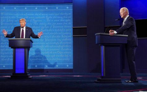 Donald Trump takes on Joe Biden in the first presidential debate