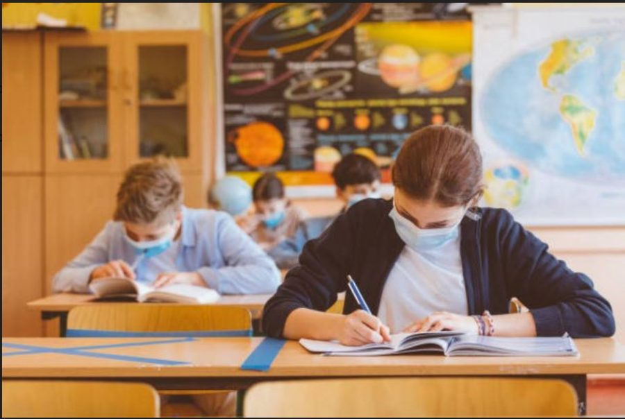 Adapting to COVID precautions changes classrooms