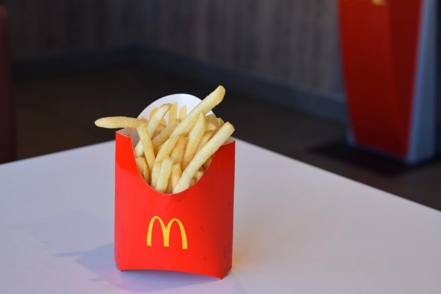 McDonalds french fries were one of the sampled fries.